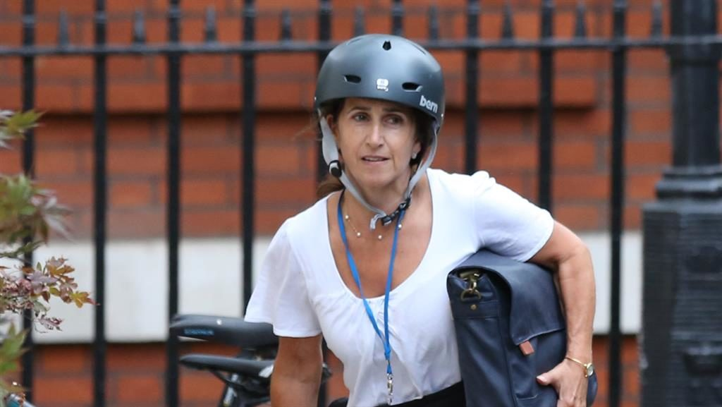 Moving on: Marina, seen in London last year, is now cancer-free PICTURE: PA