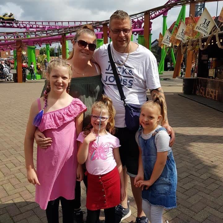 Upset: The Sawbridge family PICTURE: LEICESTER MERCURY/BPM MEDIA