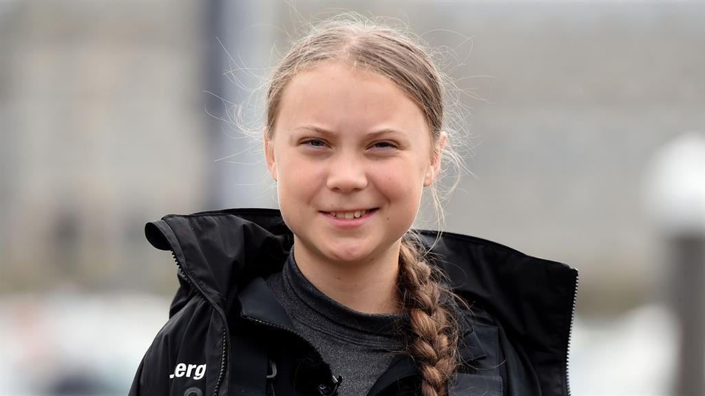 Eco-activist Greta Thunberg sets sail for NY