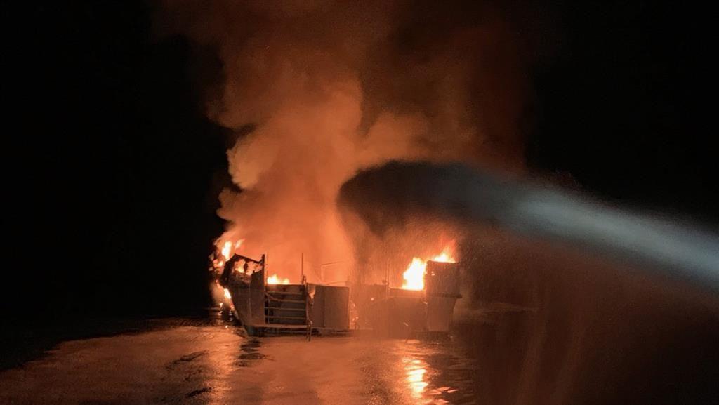 Missing in California Boat Fire