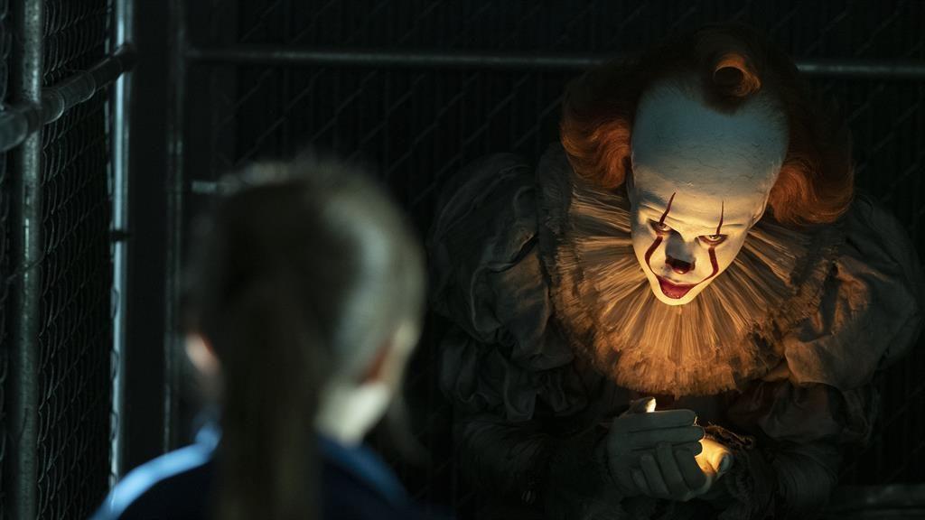 Clowning around: Bill Skarsgård as Pennywise