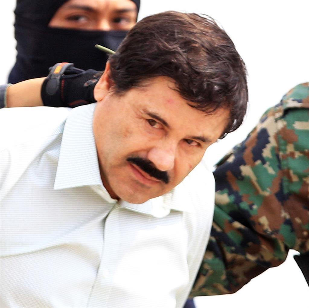 Jailed for life: Joaquin 'El Chapo' Guzman PICTURE: EPA