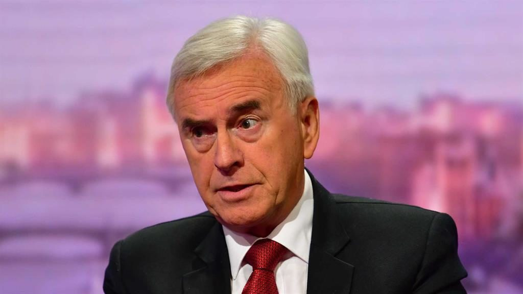 No deals: John McDonnell PICTURE: BBC