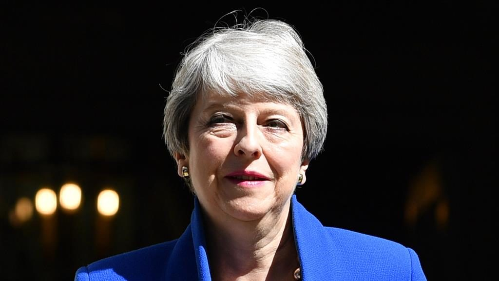 Former PM: Theresa May PICTURE: GETTY