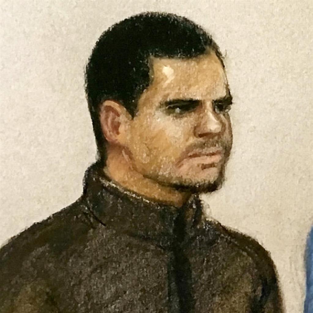 Accused: Hisham Muhammad PICTURE: SWNS