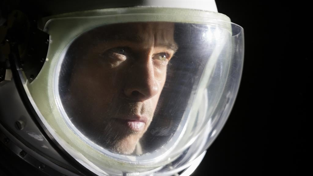 Mission accomplished: The film is a showcase for Brad Pitt's acting