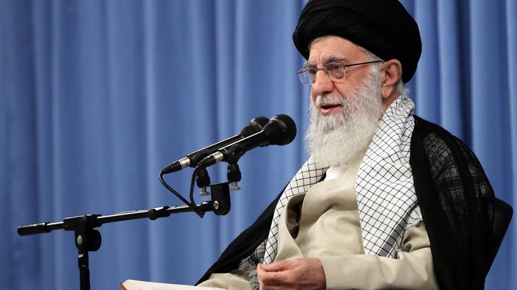 Televised address: Khamenei PICTURE: GETTY