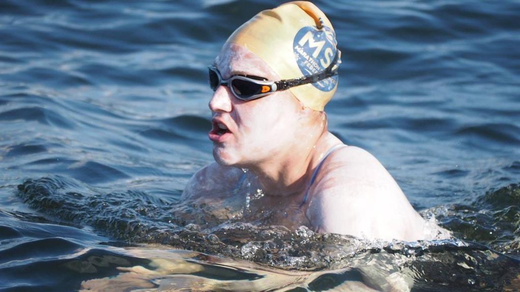 'Really tired': Swimmer Sarah Thomas