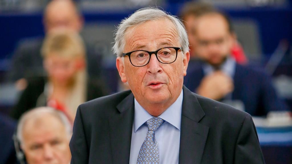 Hard line: Jean-Claude Juncker won't take the blame PICTURE: REX