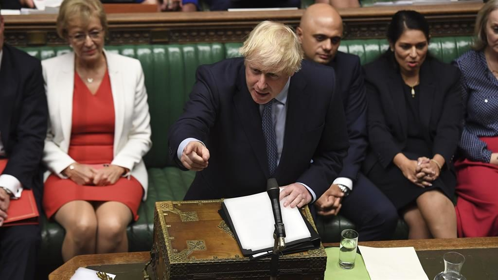 Rhetoric: Johnson in the Commons PICTURE: EYEVINE
