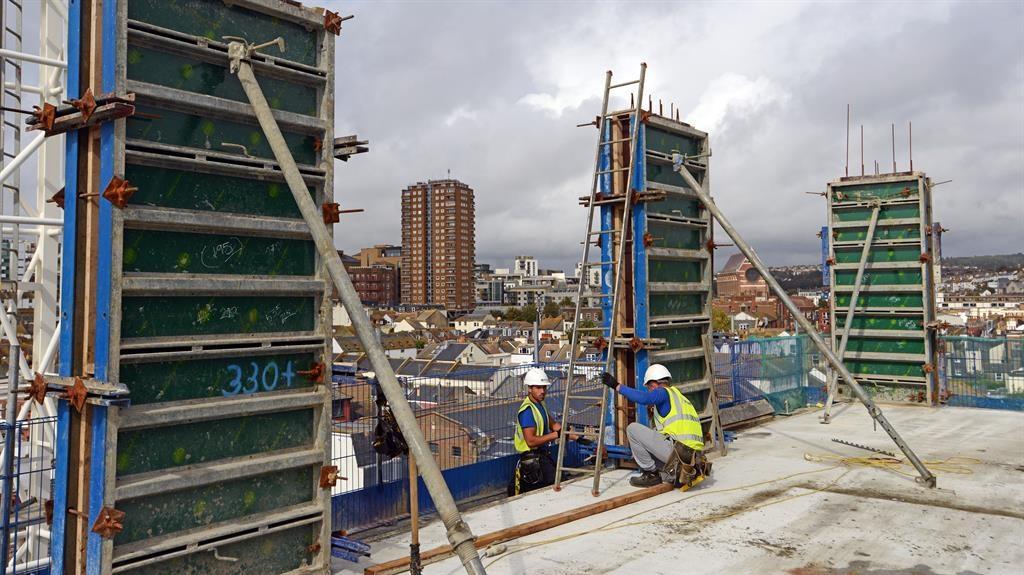 Sea-nic view: Top-floor flats will enjoy a splendid panorama