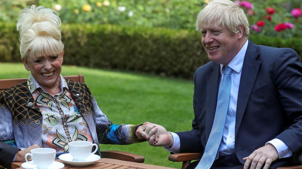 Lending a hand The PM assured the actress he'd help dementia sufferers