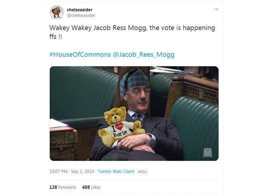 MPs hit out as Twitter mocks Jacob Rees-Mogg's 'arrogant