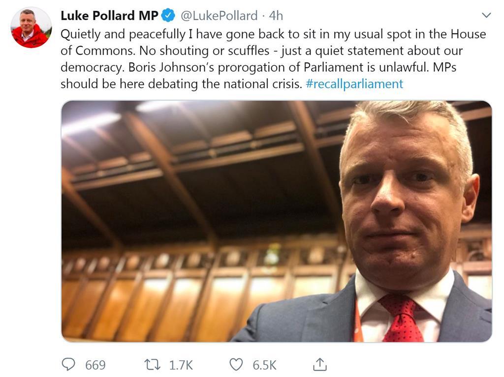 Scottish ruling puts pressure on Johnson to recall parliament