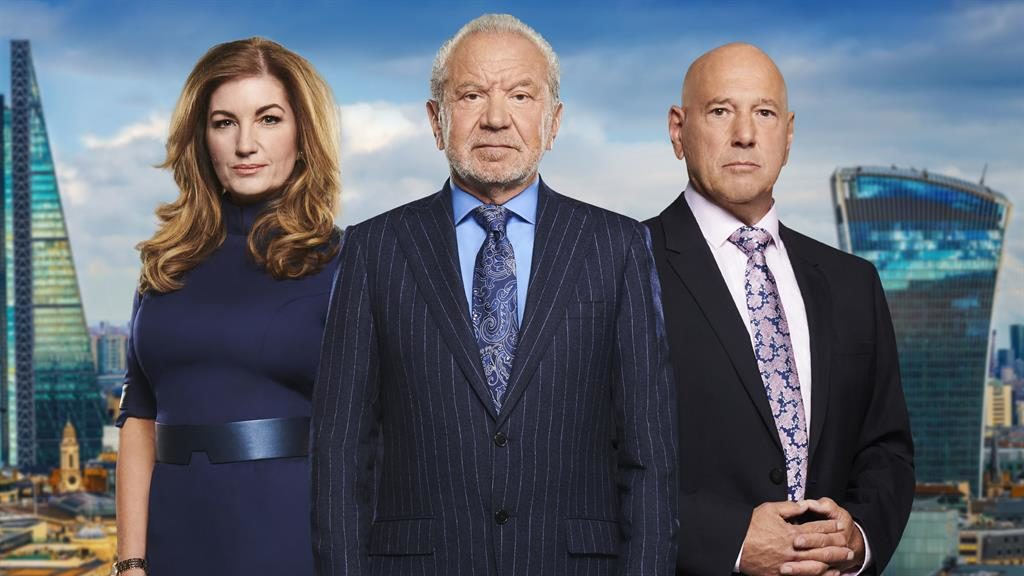 Back on TV: Lord Sugar and Littner