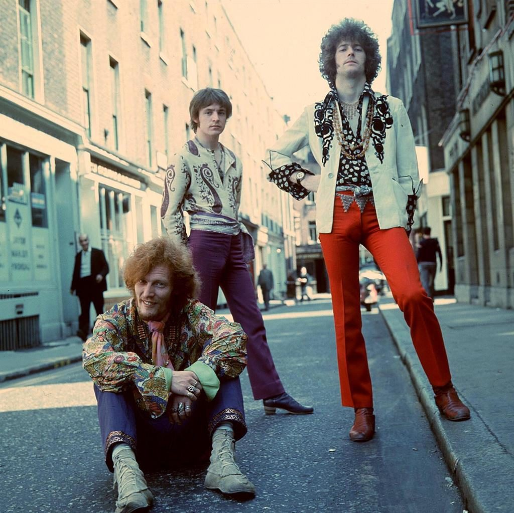 Sour relationship: From left, Ginger Baker, Jack Bruce, who the drummer often clashed with, and Eric Clapton PICTURE: REX