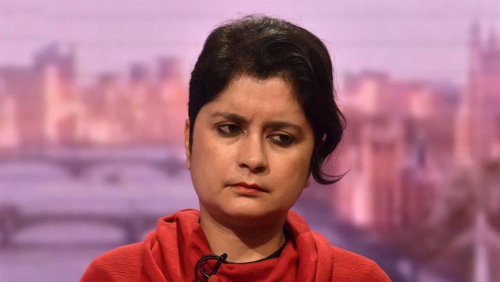 Defence: Chakrabarti and Watson (below) PICTURES: BBC/PA