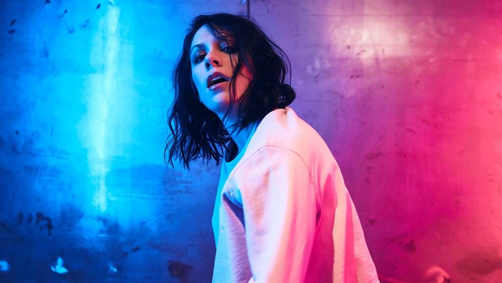 Dizzee heights: K.Flay says one of her early influences was UK rapper Dizzee Rascal