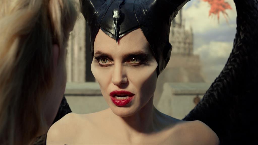 Baring her teeth: Angelina Jolie provides grandeur as Maleficent