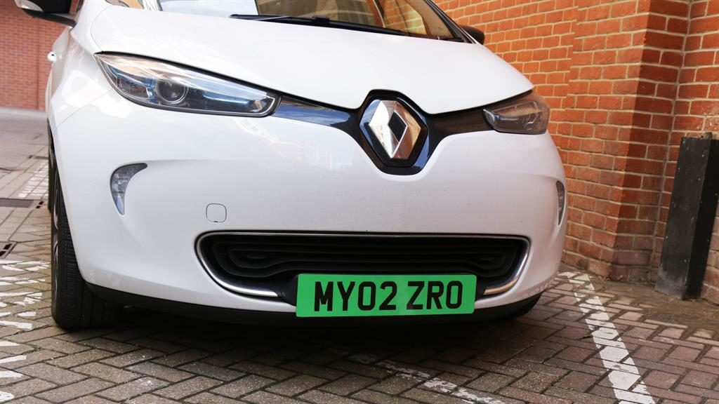 Going the extra mile: How the registration plate could look PICTURE: DEPARTMENT OF TRANSPORT/PA