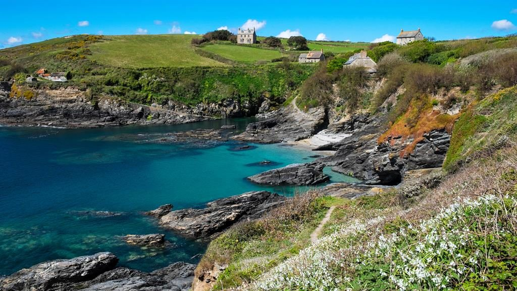 Coast to coast: Bessy's Cove in Cornwall is among England's 'treasures' PICTURE: ALAMY