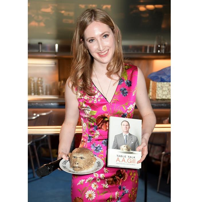 Dishing up: Flora at AA Gill food critic awards PICTURE: GETTY