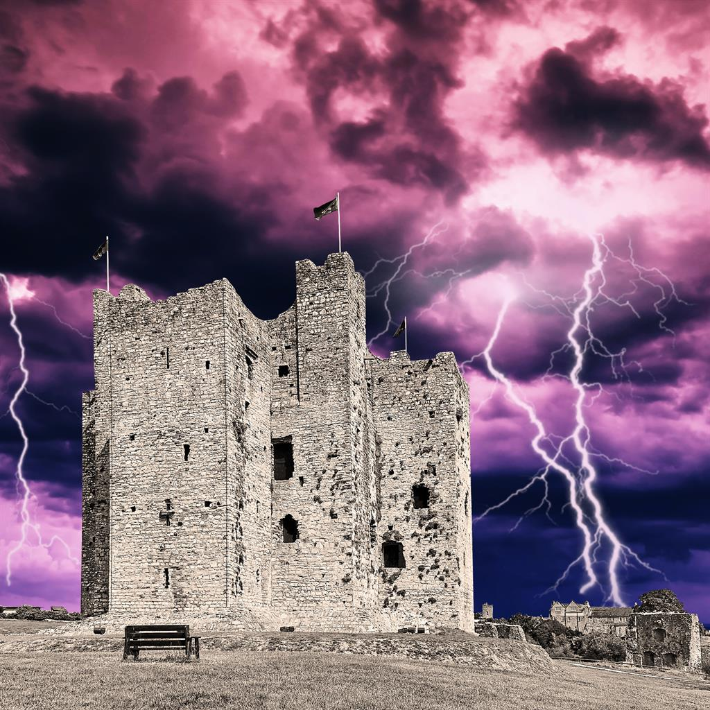 Cracking: Trim Castle, which was used for the film Braveheart