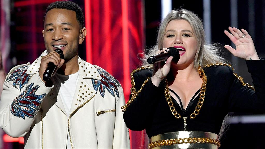 John Legend and Kelly Clarkson rewrite classic Christmas song for #MeToo - Metro Newspaper UK