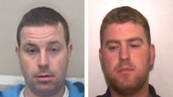 Crucial lead: Officers want to find Ronan Hughes (left) and brother Christopher