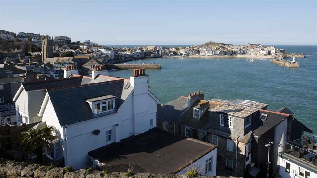 Charming: St Ives is a magnet for artists, tourists... and second-home buyers PICTURE: SWNS