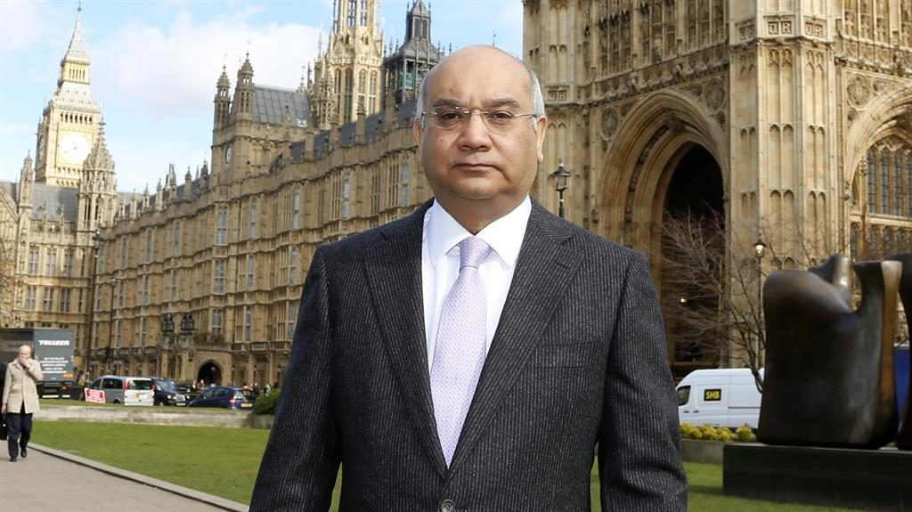 'Sad issue': Keith Vaz outside Westminster PICTURE: GETTY