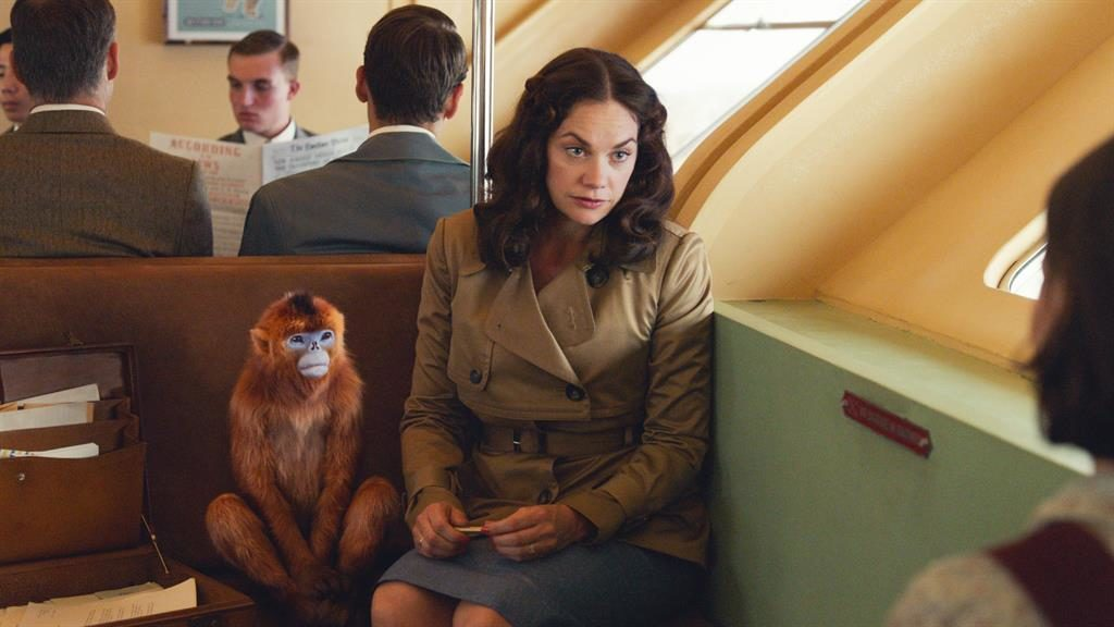 Feast for the eyes: Ruth Wilson as Mrs Coulter in the lavish TV drama PICTURES: BBC/BAD WOLF/HBO