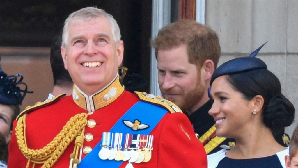 Negative: Prince Andrew PICTURE: REX/SHUTTERSTOCK