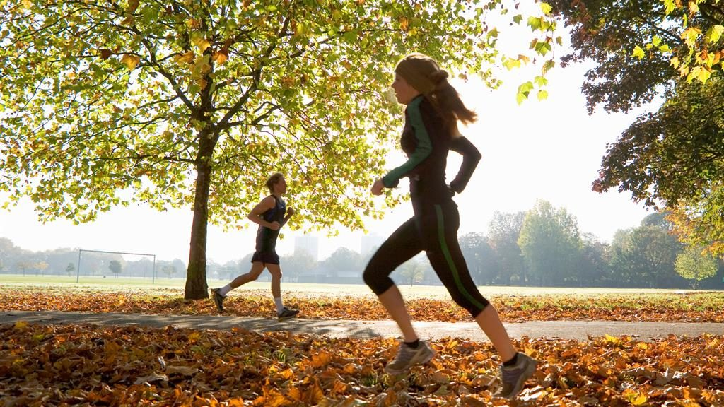 Key steps: Even jogging at less than 6mph on one 50-minute run per week is enough to cut risk of early death, scientists say PICTURE: ALAMY