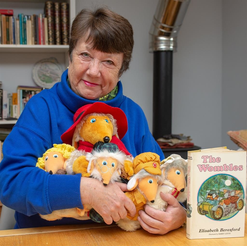 Inspired the series: Kate Robertson with some of the toys PICTURE: TONY KERSHAW/SWNS