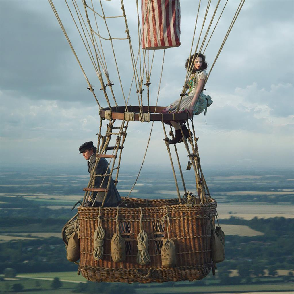 Reunited: Eddie Redmayne and Felicity Jones are back together in The Aeronauts