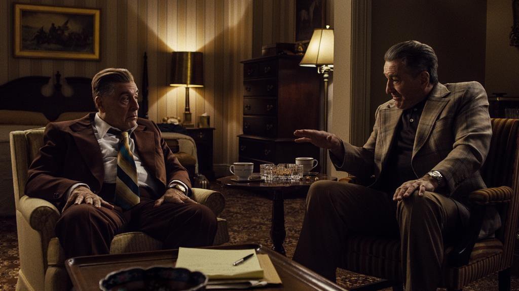 Gang-tastic: Al Pacino and Robert De Niro are on top form