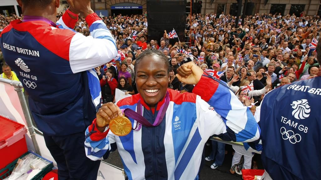 The double Adams celebrates on Team GB's London 2012 victory parade and enjoys another gold in Rio