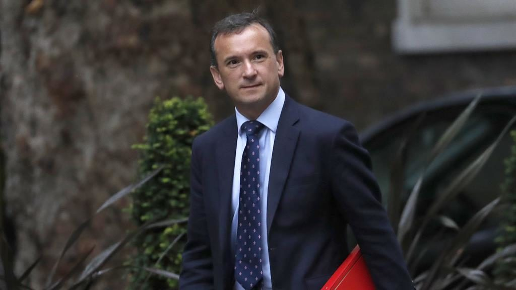 Under pressure: Alun Cairns resigned as Welsh secretary yesterday PICTURE: AP