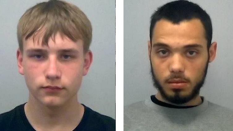 'Crucial information': Teens Jamie Chandler (left) and Clayton Barker