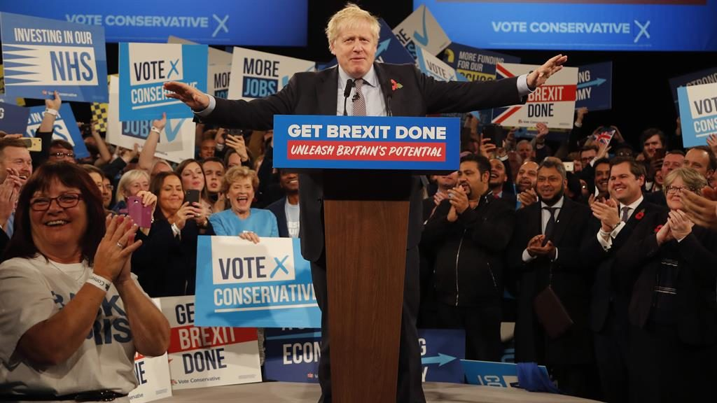 A Brum do: Boris Johnson delights Tories at the NEC PICTURES: AP/I-IMAGES/GETTY