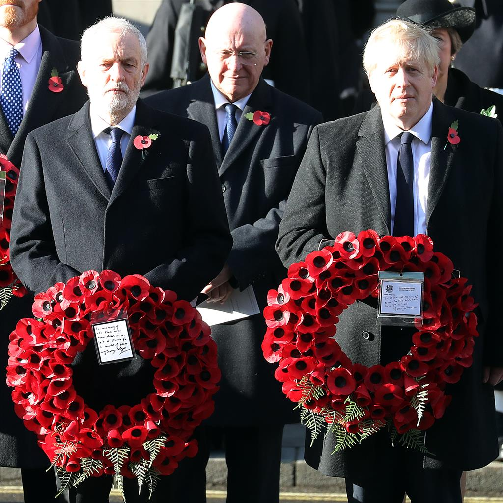 BBC apologises for 'production error' after using old Boris Johnson wreath footage