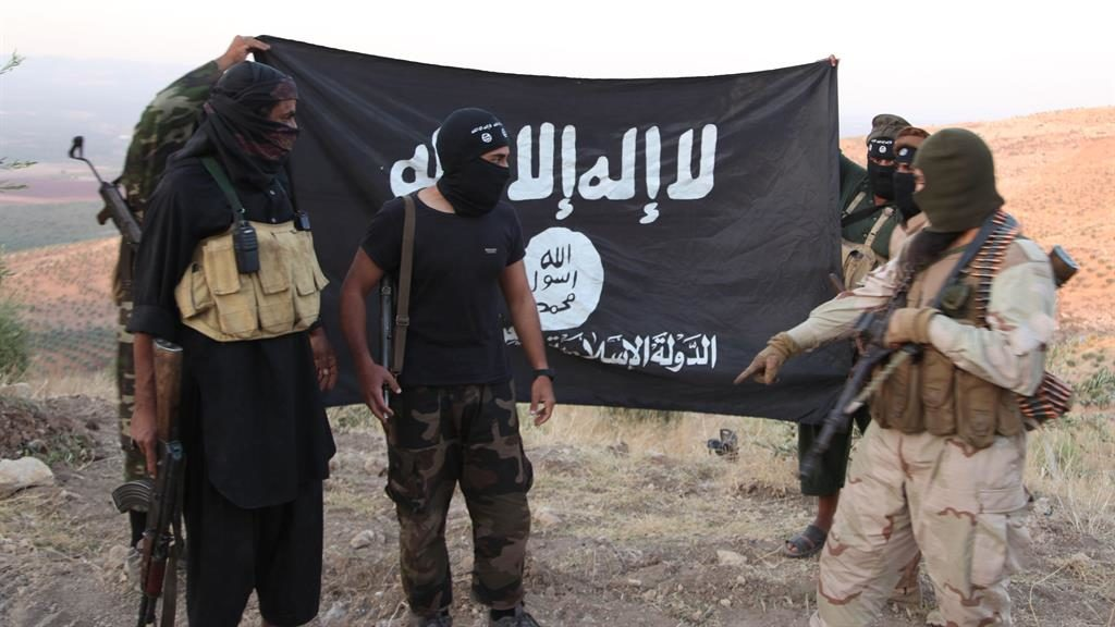 Failed state: Daesh fighters pictured in Aleppo, northern Syria in 2013 PICTURE: ALAMY