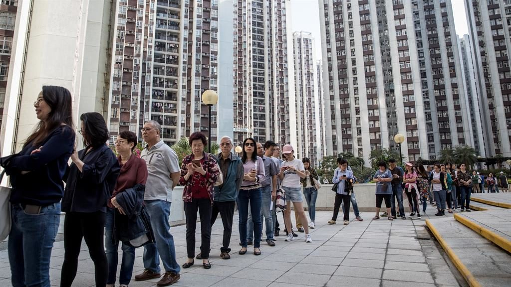 China 'resolutely' backs Hong Kong leader despite polls setback