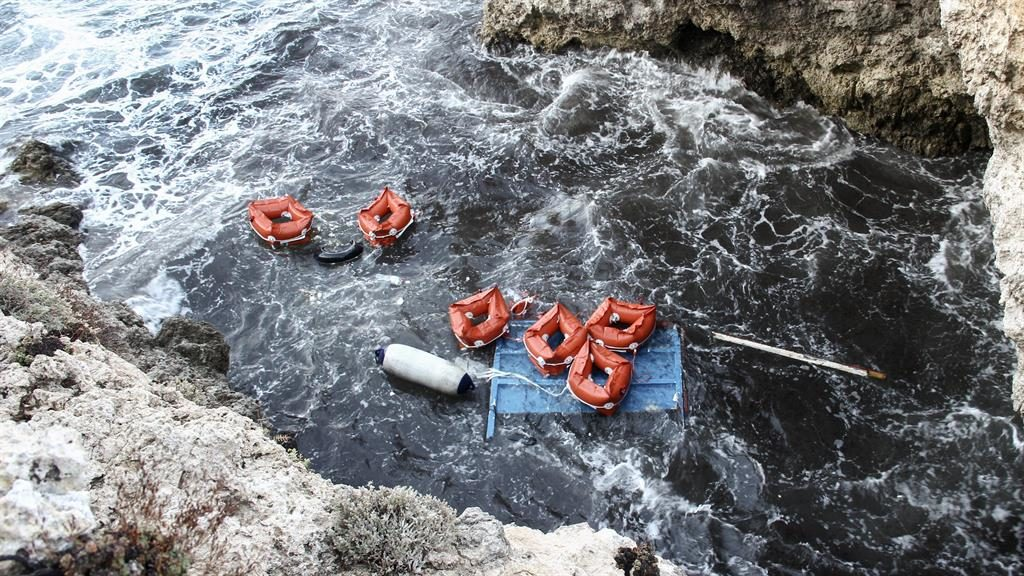 Italian coast guard recovers seven bodies of migrants off island