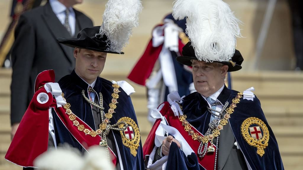 Queen Elizabeth's unexpected public gesture with Prince Andrew