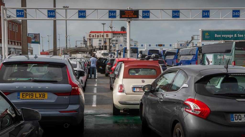 Man 'boarded Calais ferry with dead mum in car'