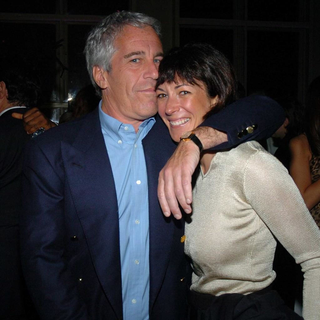 Hire life: Ghislaine Maxwell with Jeffrey Epstein PICTURES: GETTY/REX