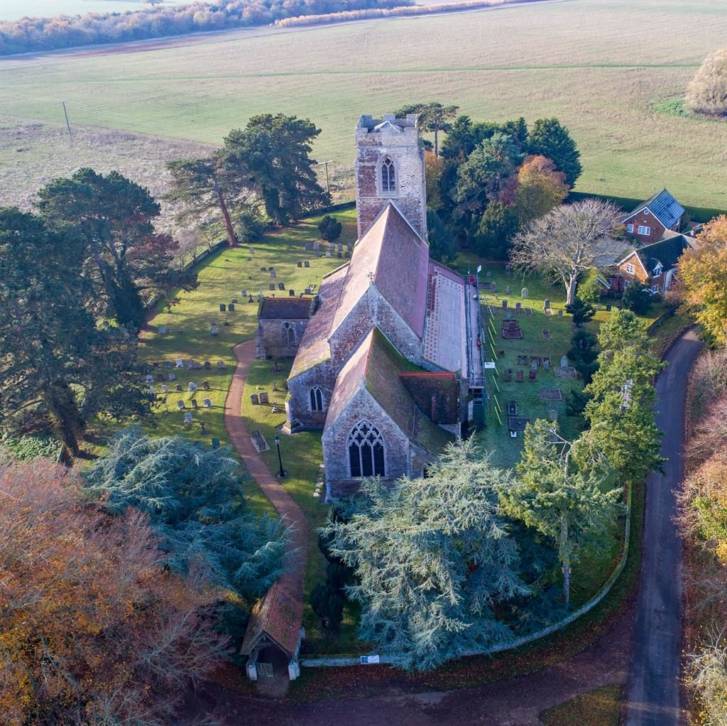 In a fix: St Peter's Church on the Queen's Sandringham estate PICTURE: BAV MEDIA