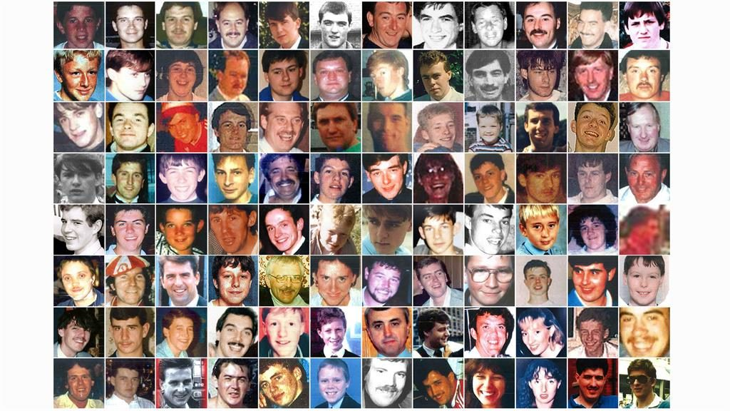Tragic toll: The 96 victims who died after crush behind barriers at FA Cup match PICTURES: PA